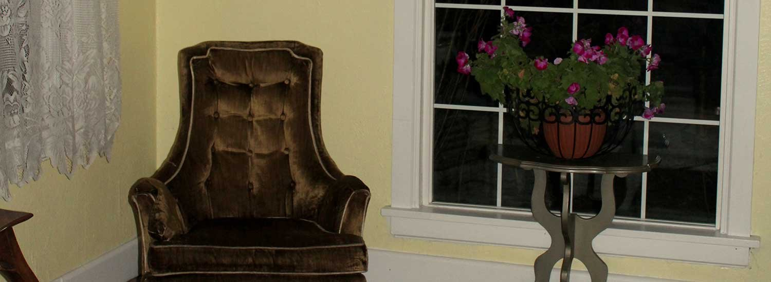 old fashioned chair.
